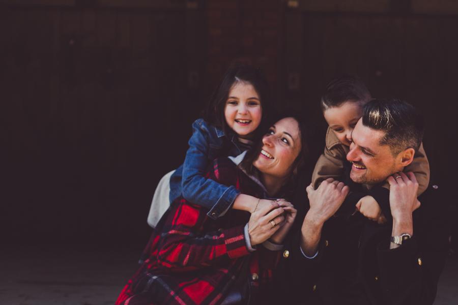 Photo de famille lifestyle