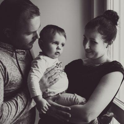 photos de famille à la maison
